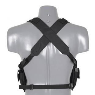 Chaleco Chest Rig - Negro