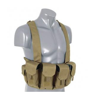 Chaleco Chest Rig - Tan