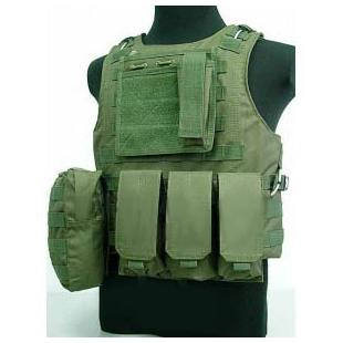 Chaleco Airsoft FSBE - OD Verde
