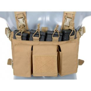Chest Rig Buckle Up TAN