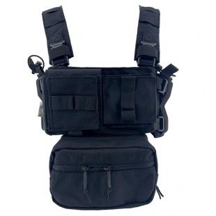 Chest Rig Conquer Negro