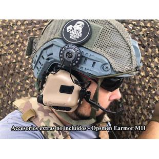 Earmor M32 MOD3 Auriculares Tactical Hearing Protection Ear-Muff- M32 Tan/coyote