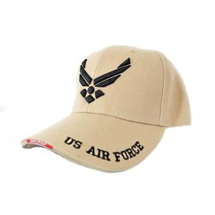 Gorra Air Force Talla Ajustable - Tan