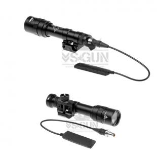 Linterna M600C ULTRA 450 Lumenes Scout Weaponlight Night Evolution Negra