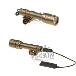 Linterna M600C ULTRA 450 Lumenes Scout Weaponlight Night Evolution Tan