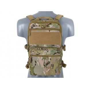 Panel Frontal Molle + Mochila Multicam