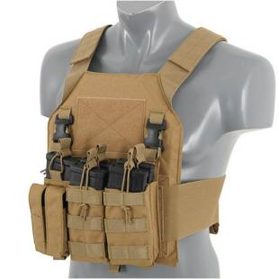 Panel Triple M4+Pistola Buckle Up Tan