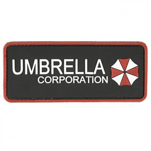 Parche PVC 3D en relieve UMBRELLA