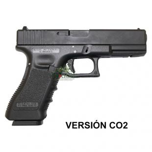 PISTOLA  KP 17 CO2 KJ WORKS- Negra