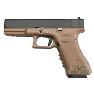 PISTOLA KP 17 Gas Saigo (KJ Works) - Tan